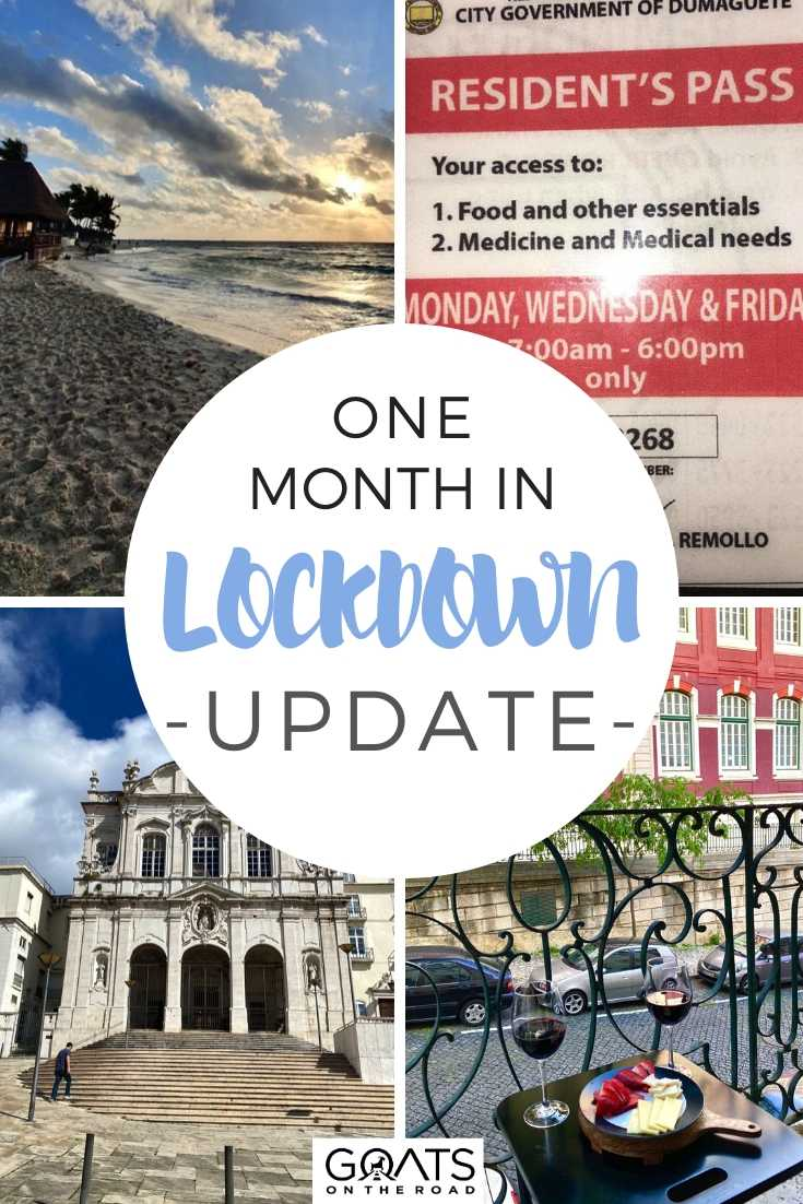 One Month in Lockdown Update From Portugal