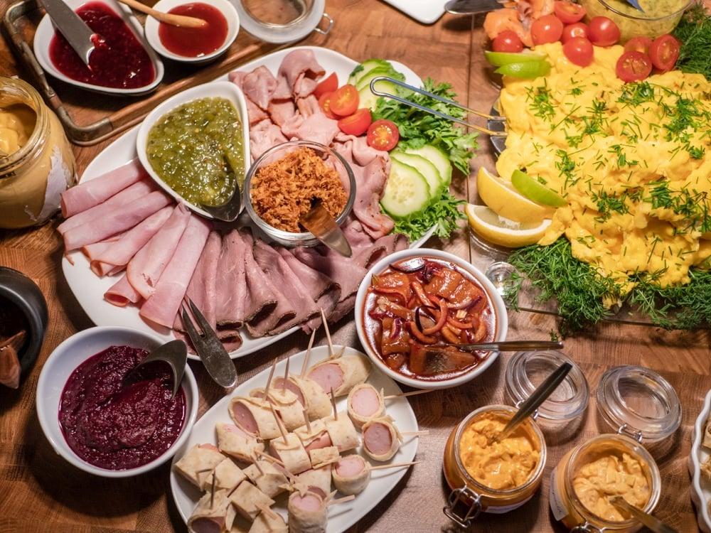 christmas meal in copenhagen