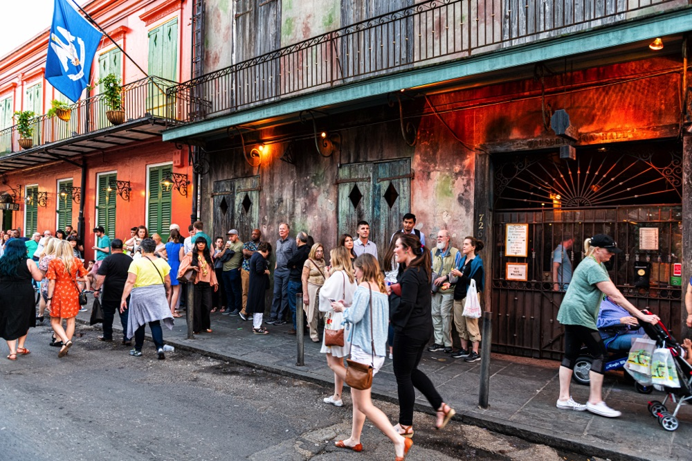3 days in new orleans preservation hall