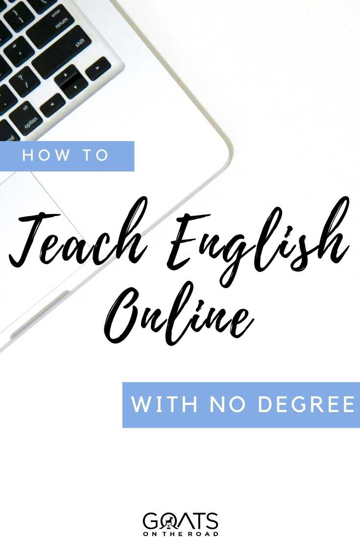 """""""How To Teach English Online With No Degree"""