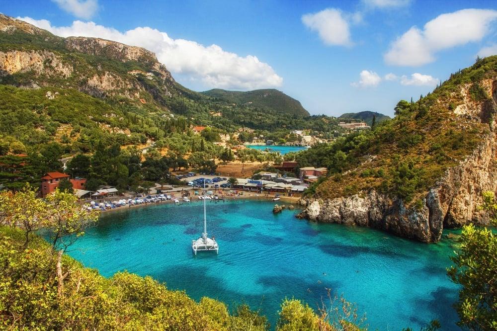 Paleokastritsa best areas to stay in corfu