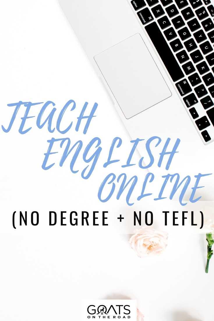 Teach English Online (No Degree + No TEFL)