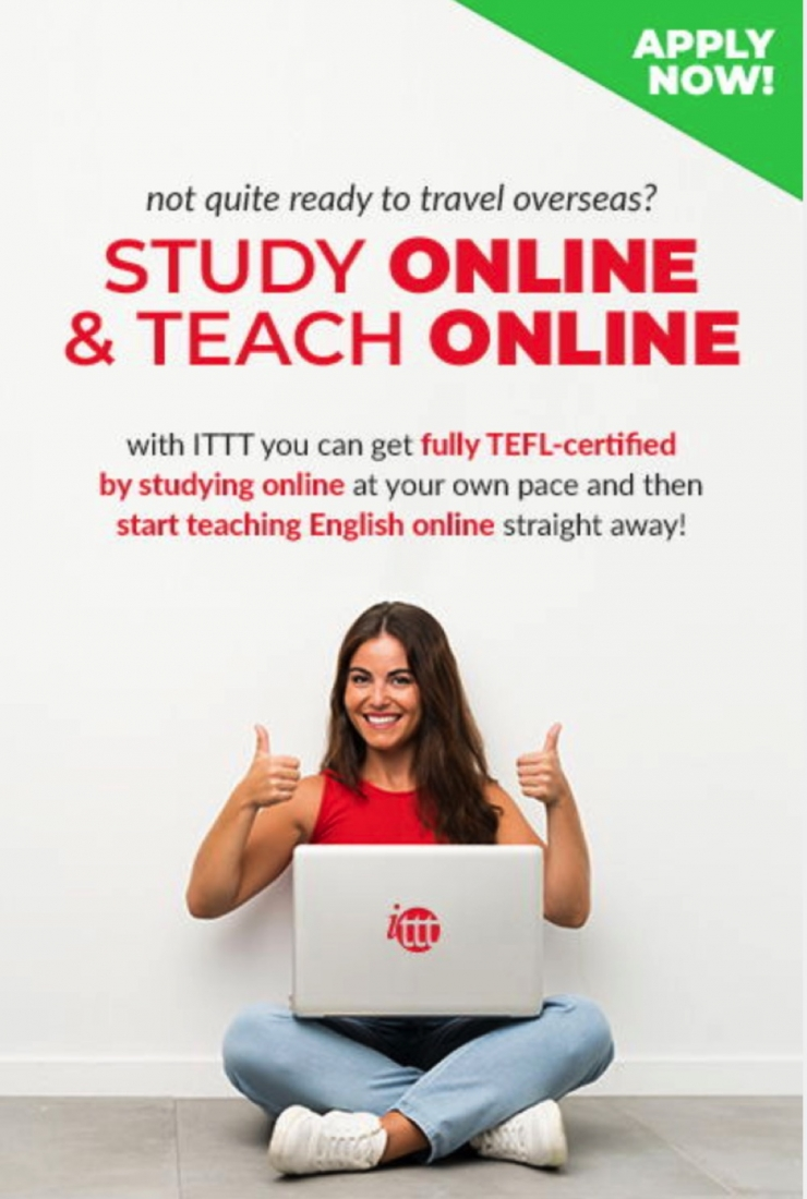 apply to get a TEFL with ITTT
