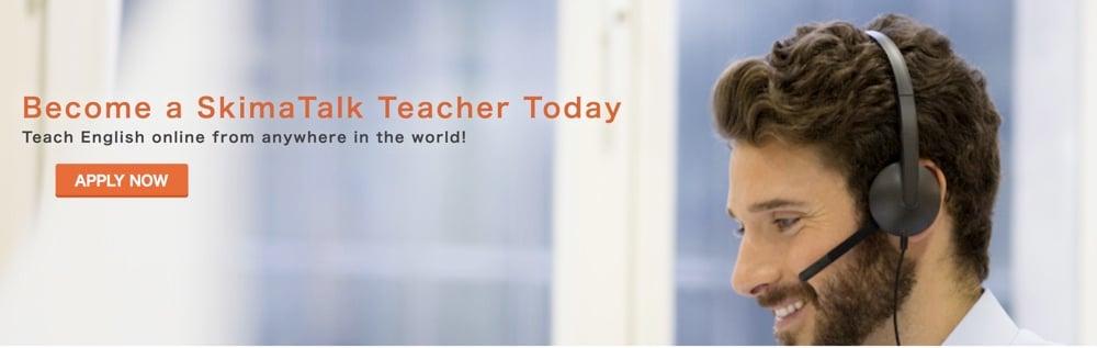 become a skimatalk teacher