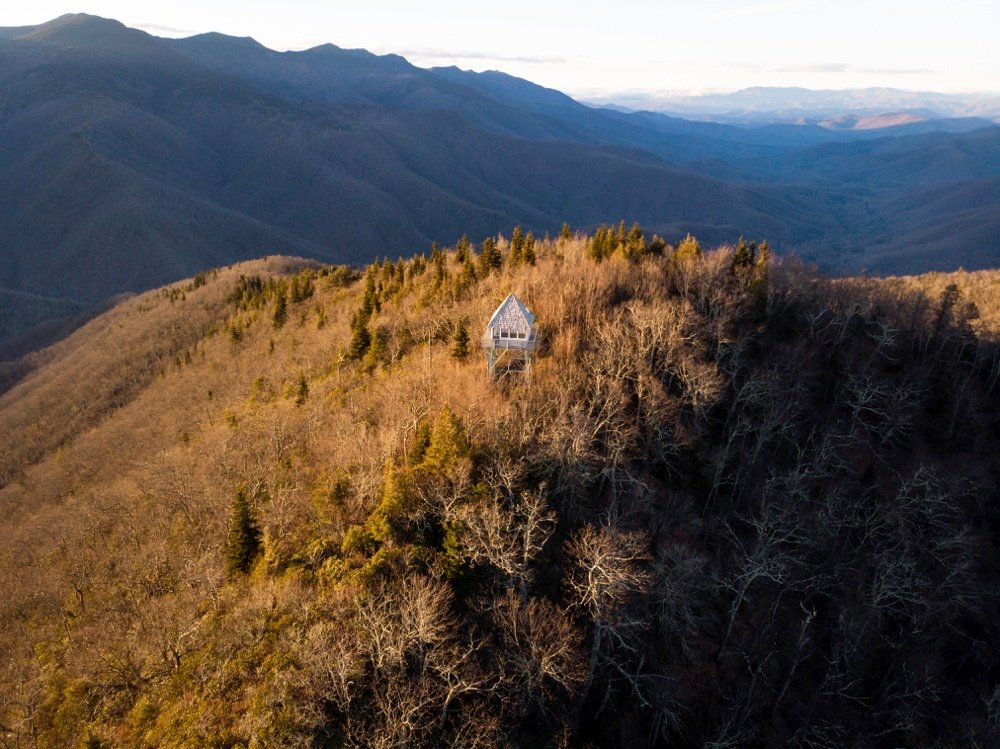 green knob lookout tower