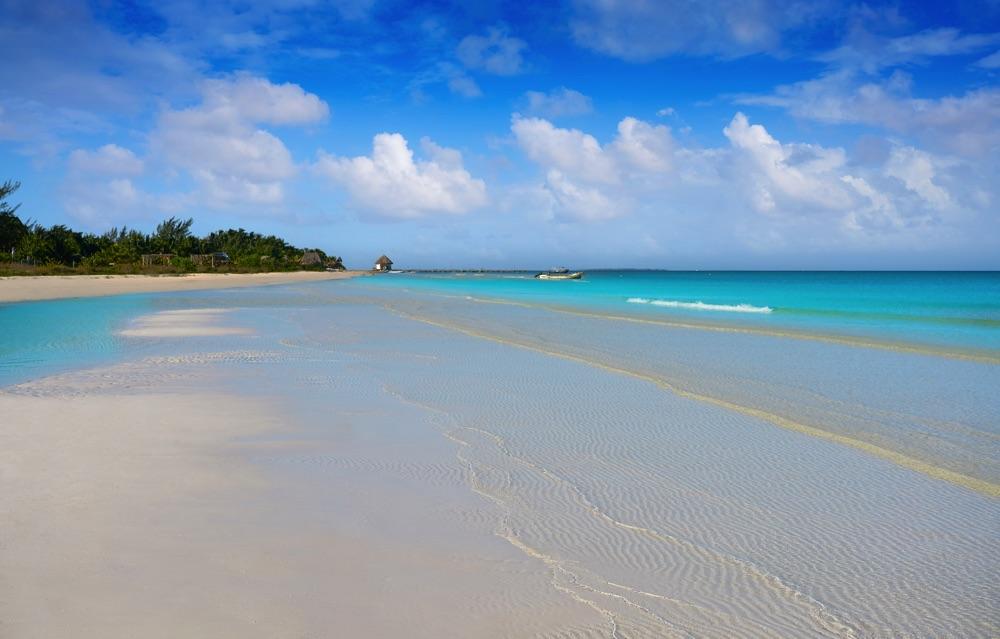 isla holbox calm beach in mexico