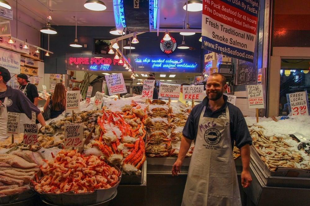 market seattle seafood