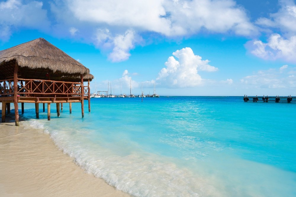 playa maroma best white sand beach in mexico