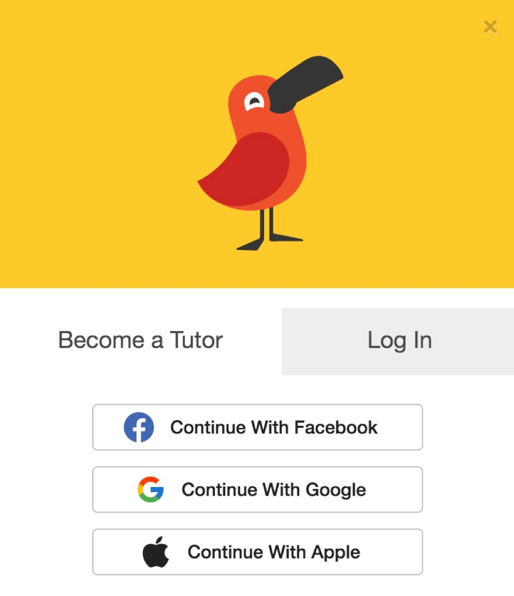 sign up as a cambly tutor