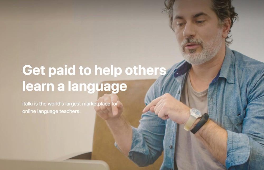 teaching english online without a university degree italki