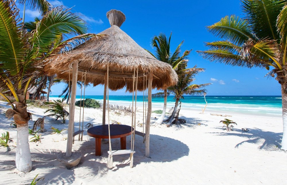 top beaches in mexico