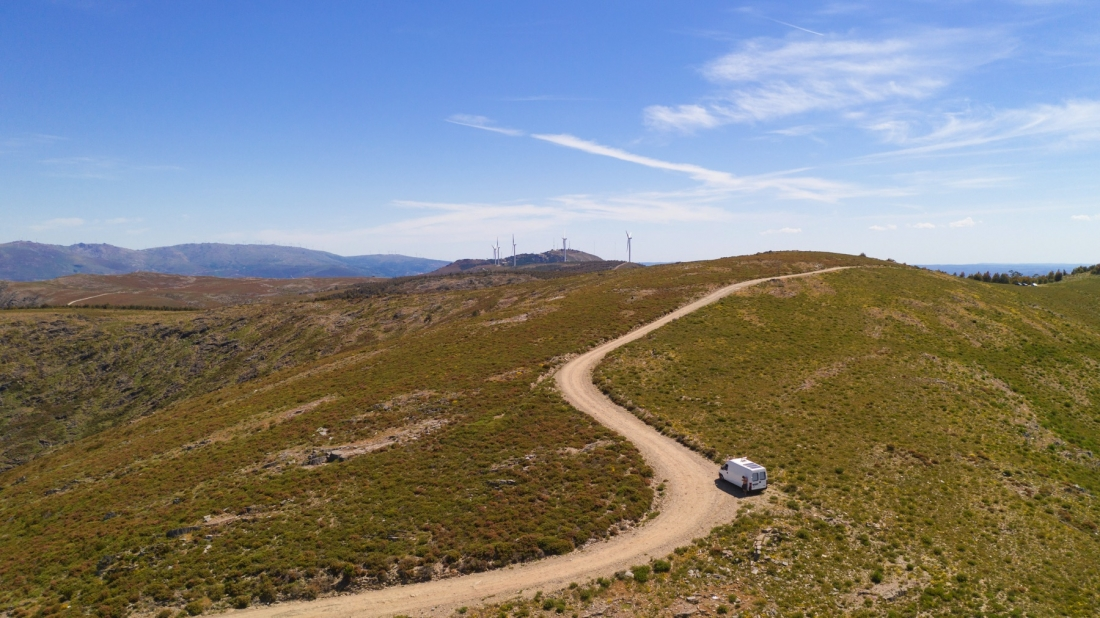 Trip Announcement! Exploring Portugal by Campervan - goats on the road
