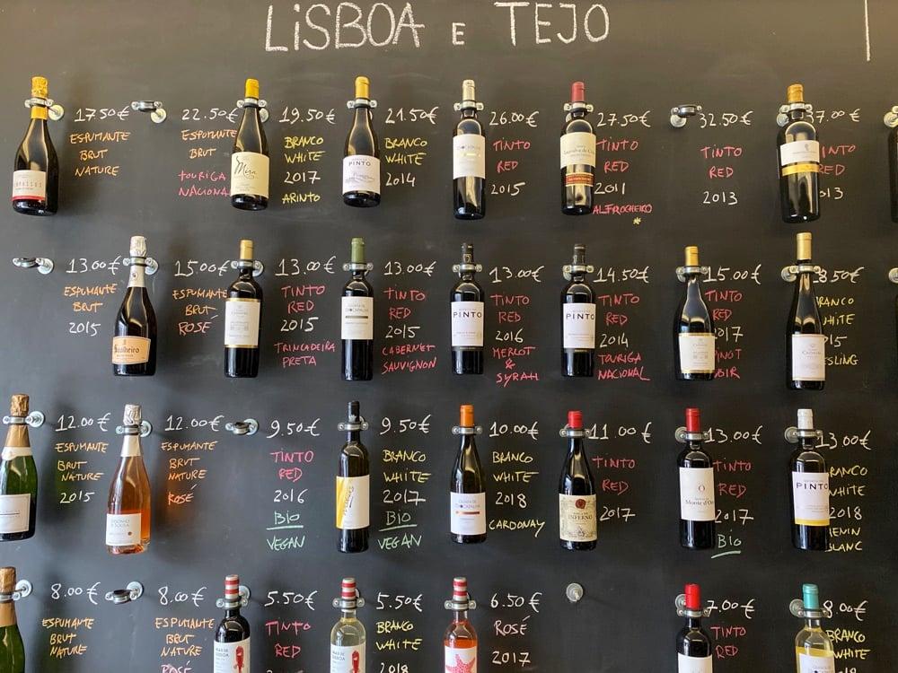 wine in portugal