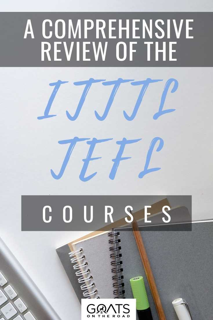 A Comprehensive Review Of The ITTT TEFL Courses