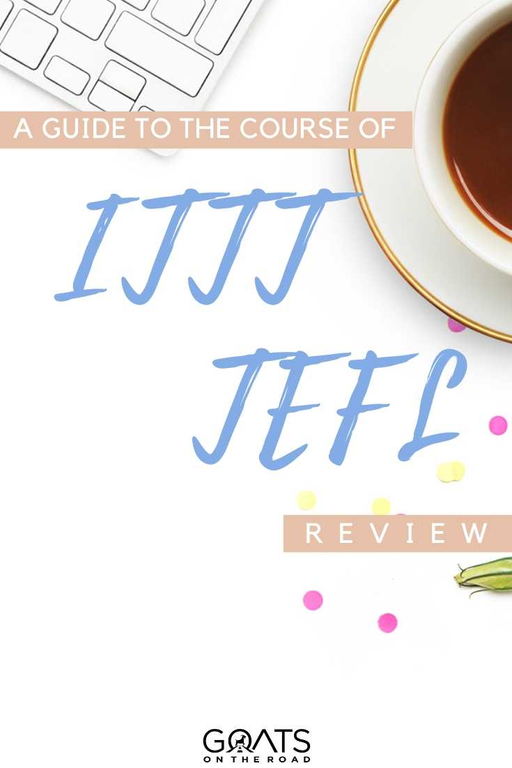 """A Guide To The Course Of ITTT TEFL"