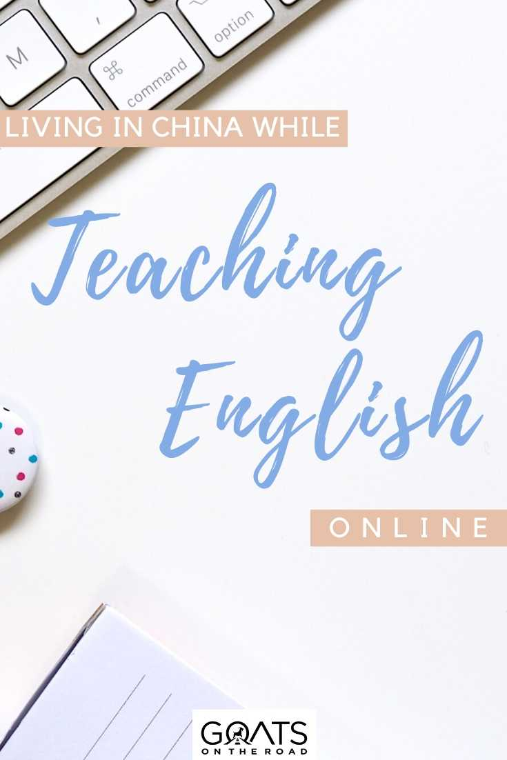 """Living in China While Teaching English Online"