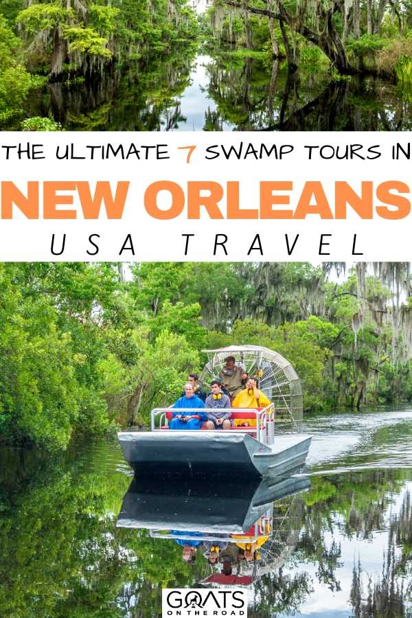 """The Ultimate 7 Swamp Tours in New Orleans"