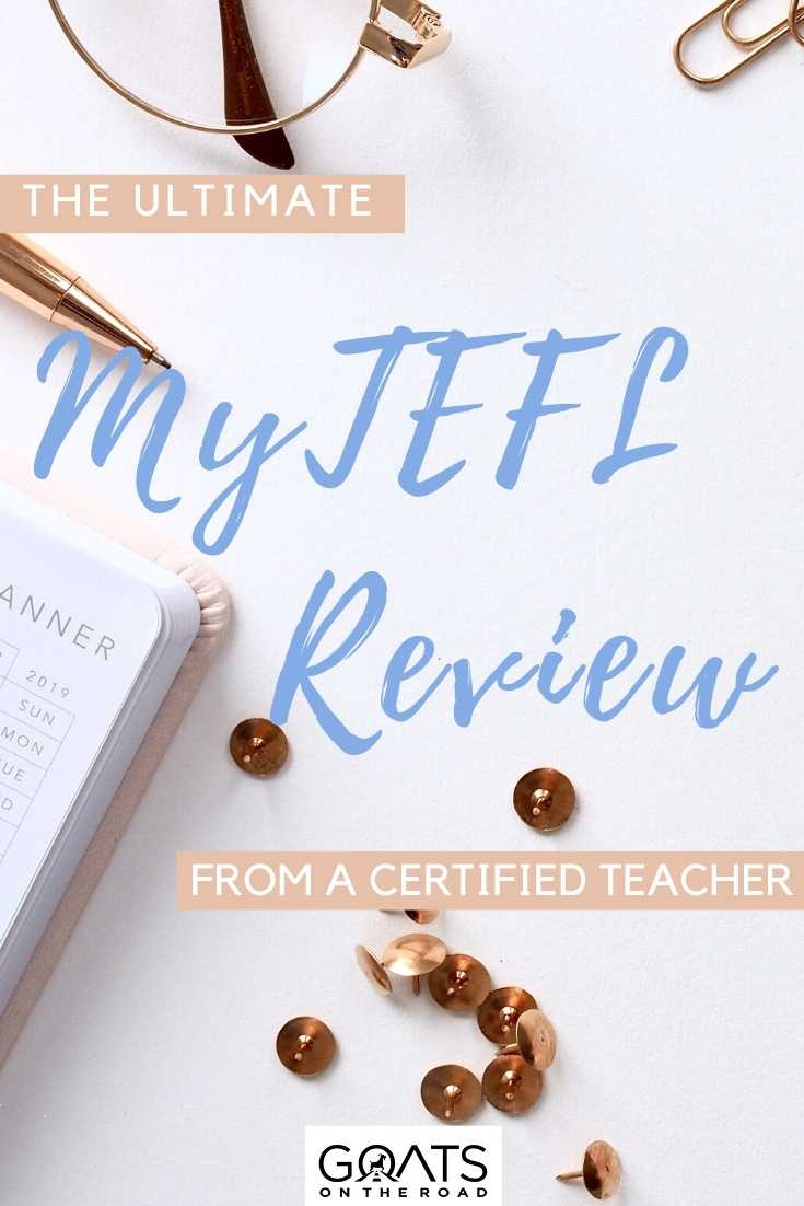 """The Ultimate MyTEFL Review From A Certified Teacher"