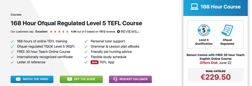 premier tefl level 5 certification