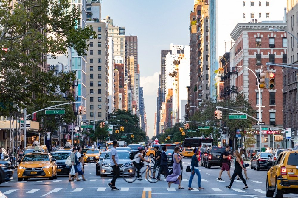 walking in new york city with 2 days