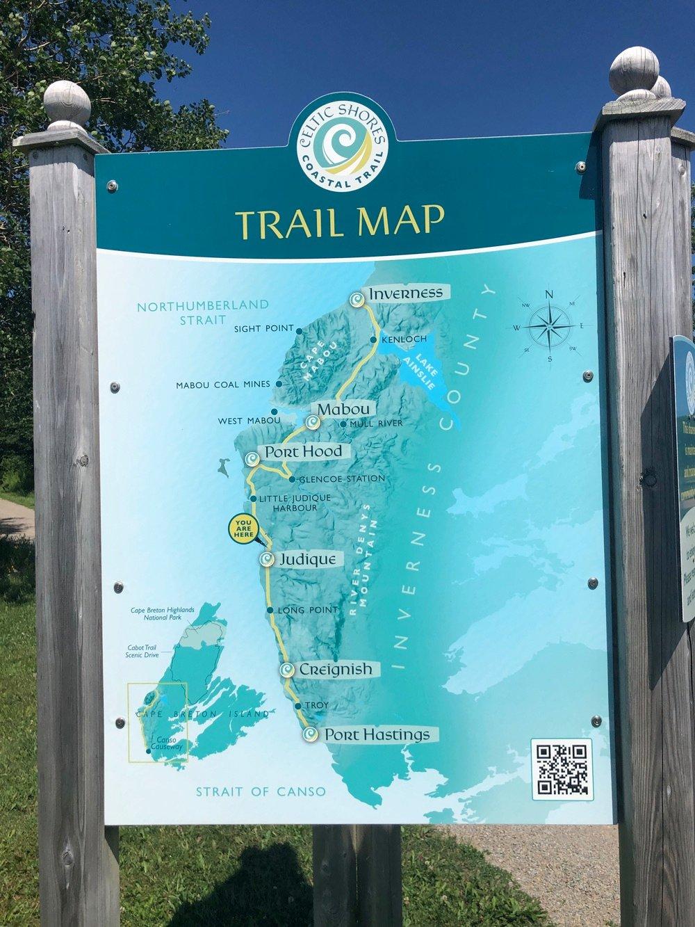 celtic shores coastal trail map nova scotia
