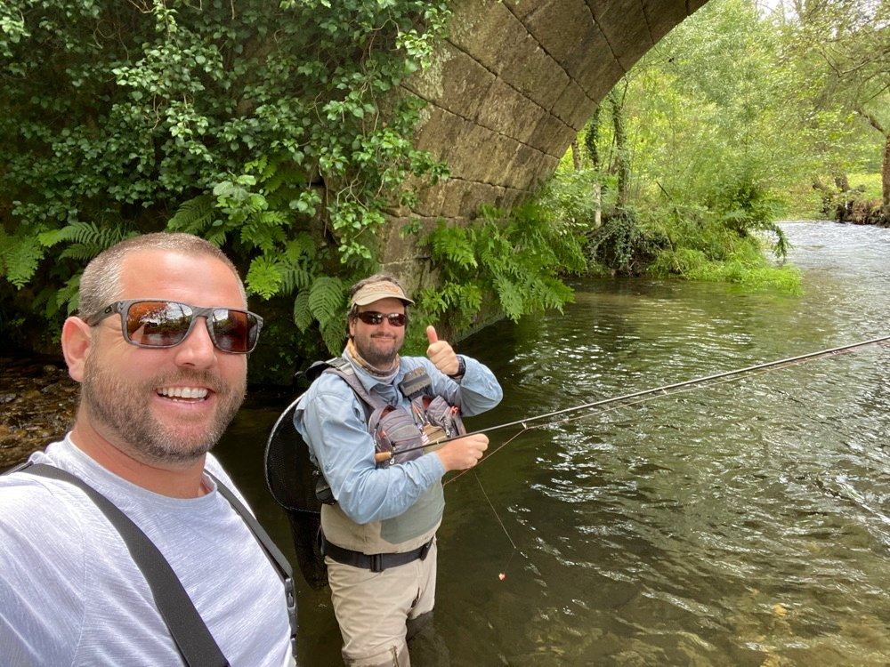 fly fishing in portugal