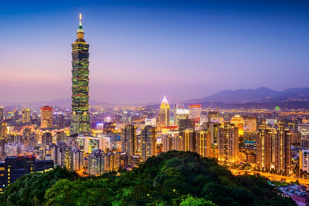 how to spend a weekend in taipei see the skyline