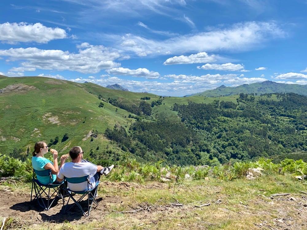 peneda geres national park view