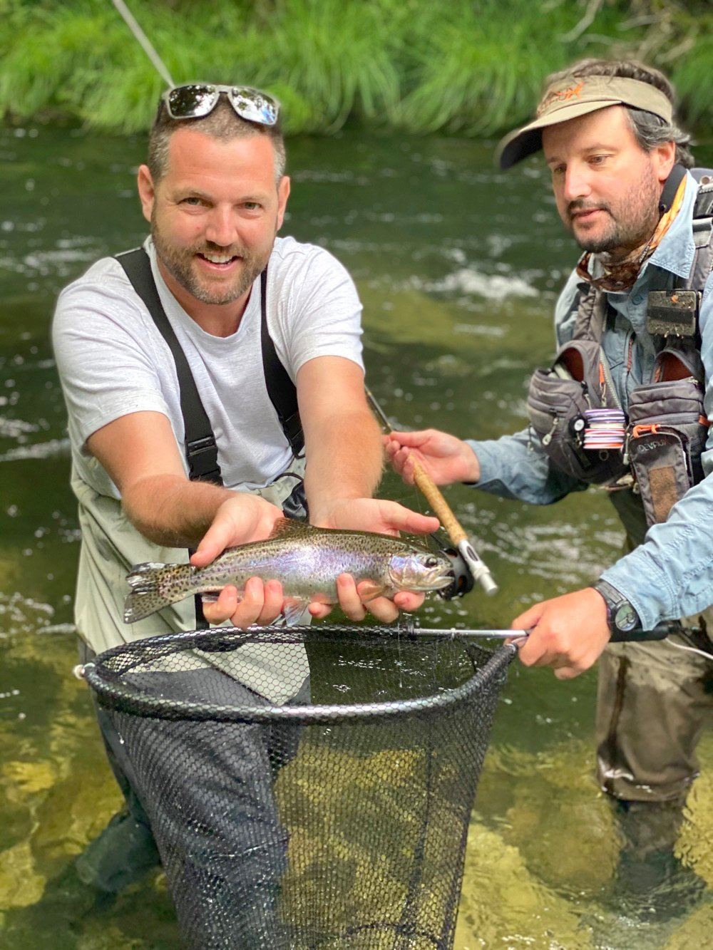 rainbow trout fishing in portugal