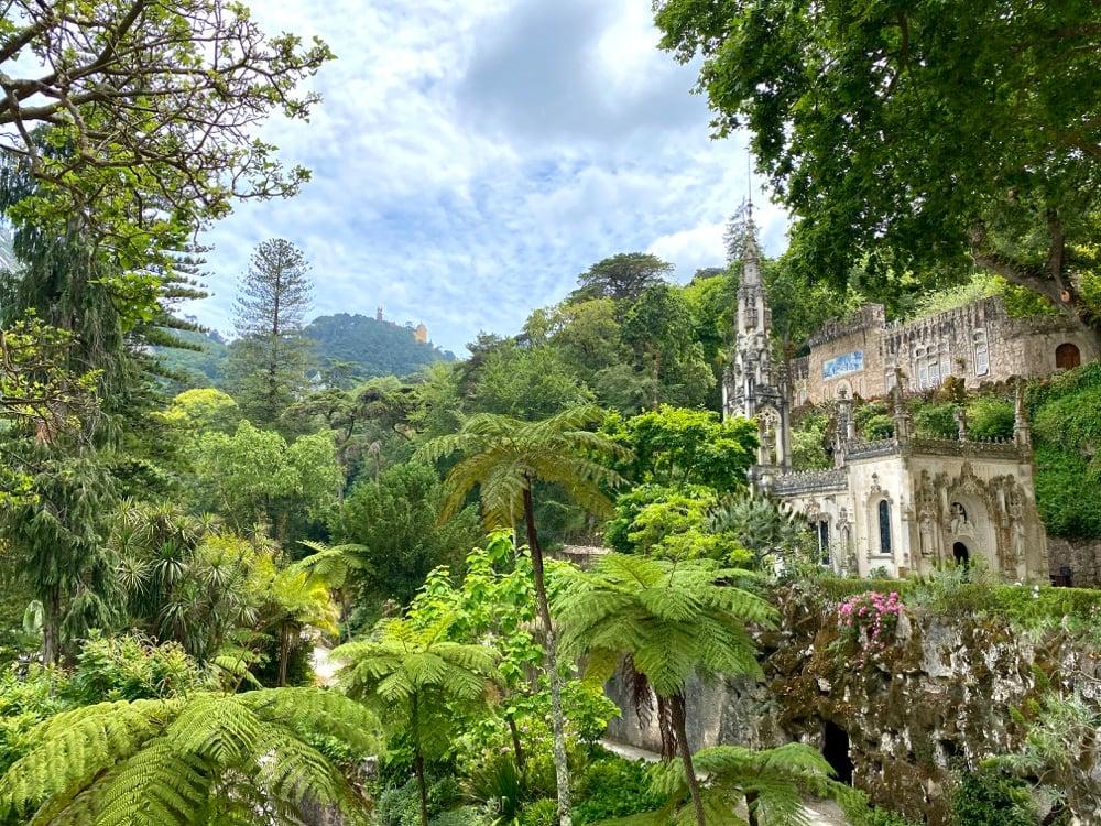 sintra lush gardens portugal