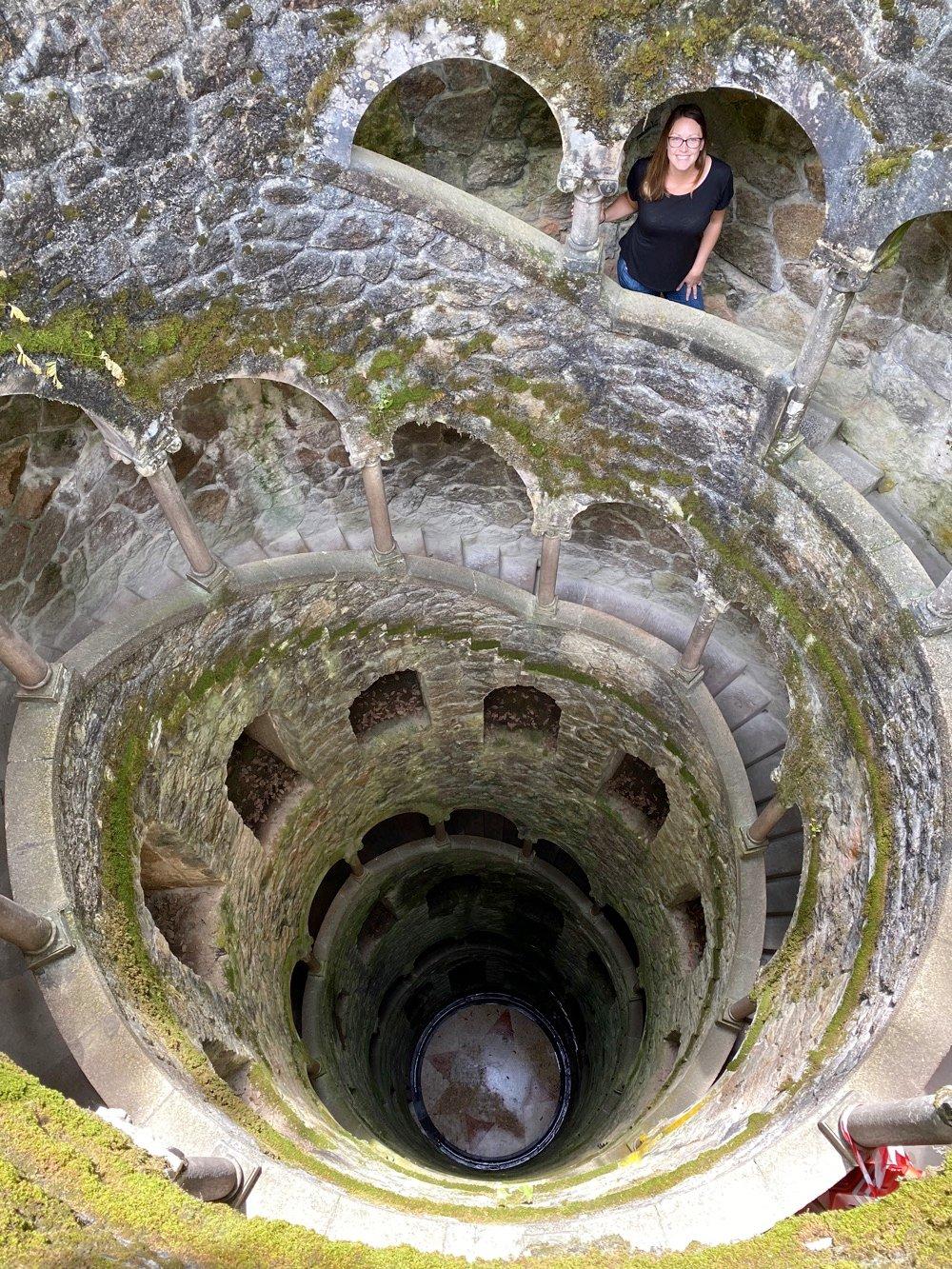 Quinta da Regaleira well in portugal