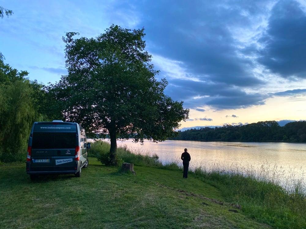 wild camping minho river