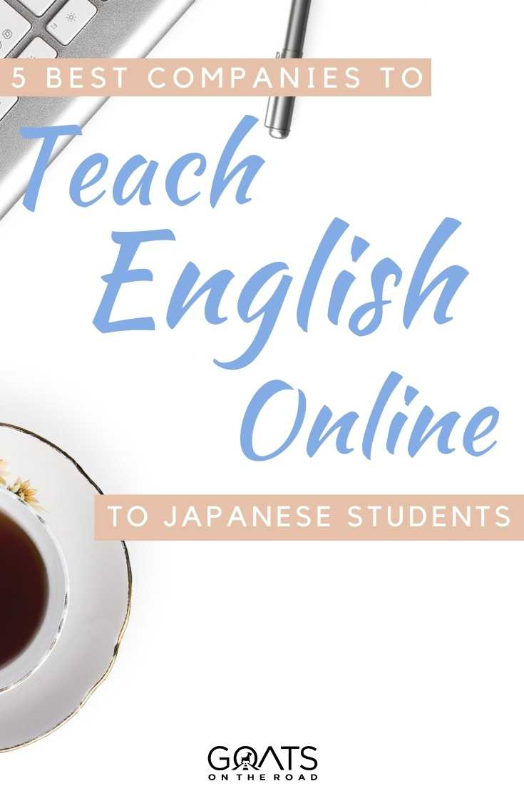 """""""5 Best Companies To Teach English Online to Japanese Students"""