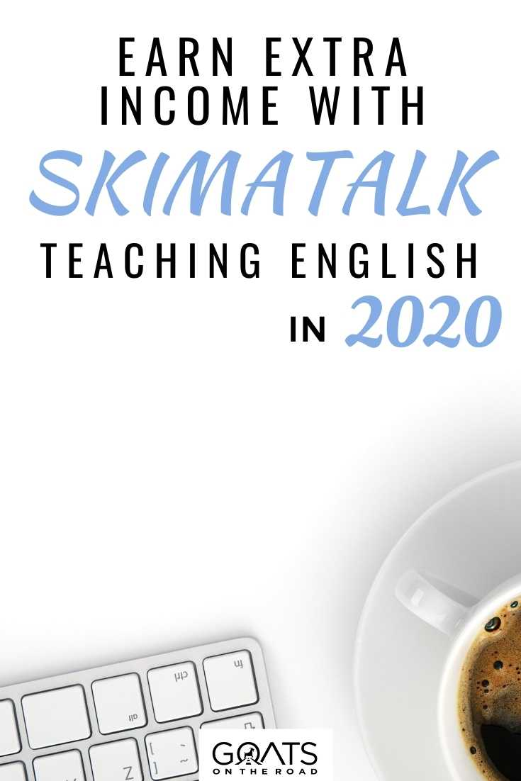 Earn Extra Income With SkimaTalk By Teaching English Online