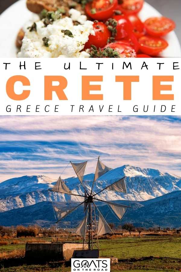 """The Ultimate Crete Travel Guide"