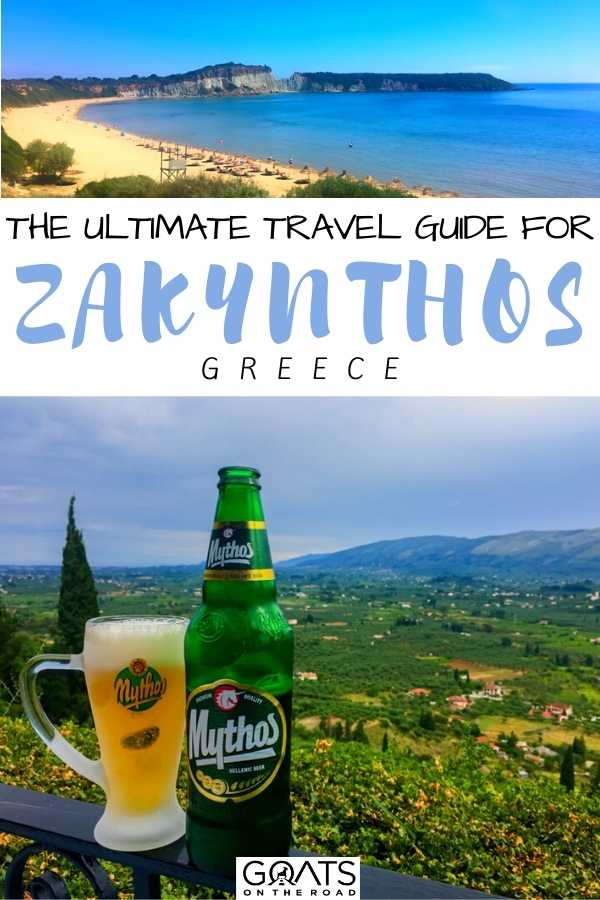"""""""The Ultimate Travel Guide For Zakynthos, Greece"""