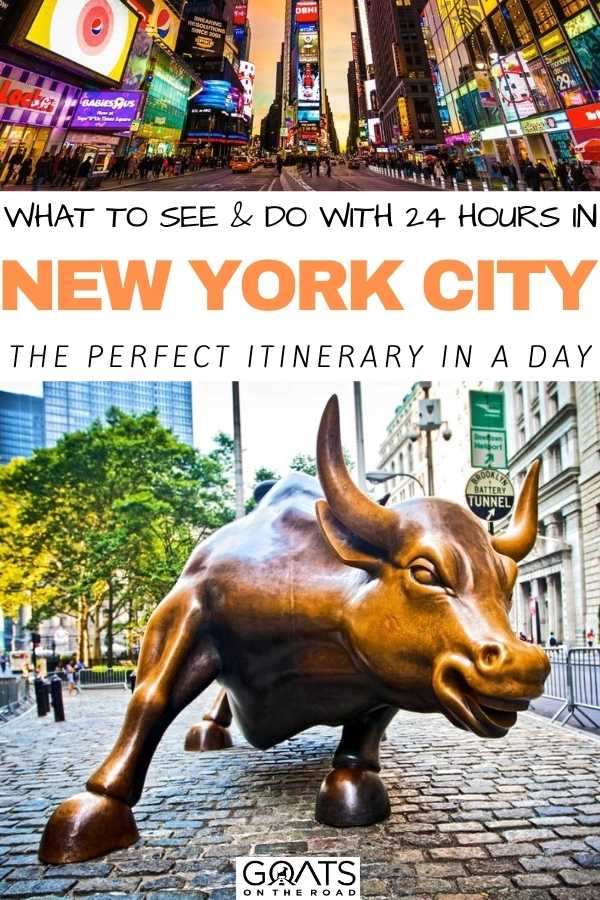 """""""What To See & Do with 24 Hours in New York City: The Perfect Itinerary In A Day"""