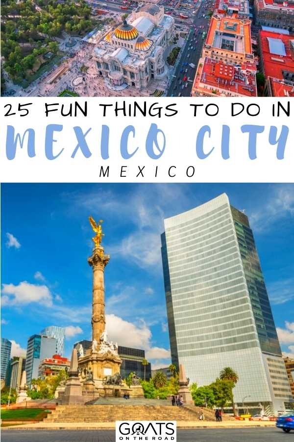 25 Fun Things To Do in Mexico City