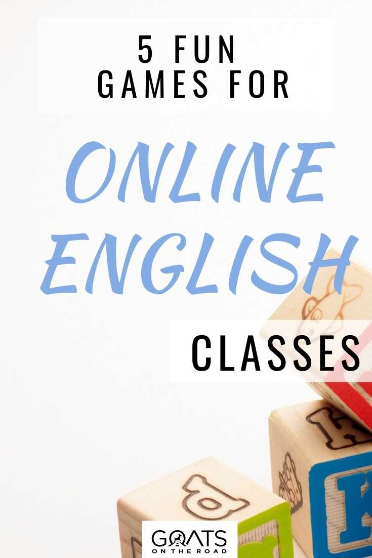 5 Fun Games for Online English Classes
