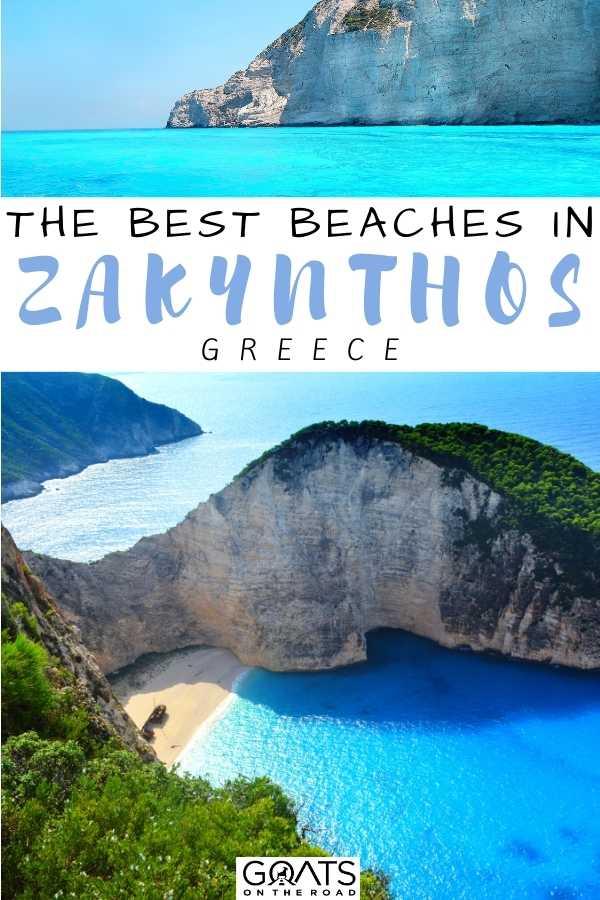 """""""The Best Beaches in Zakynthos, Greece"""