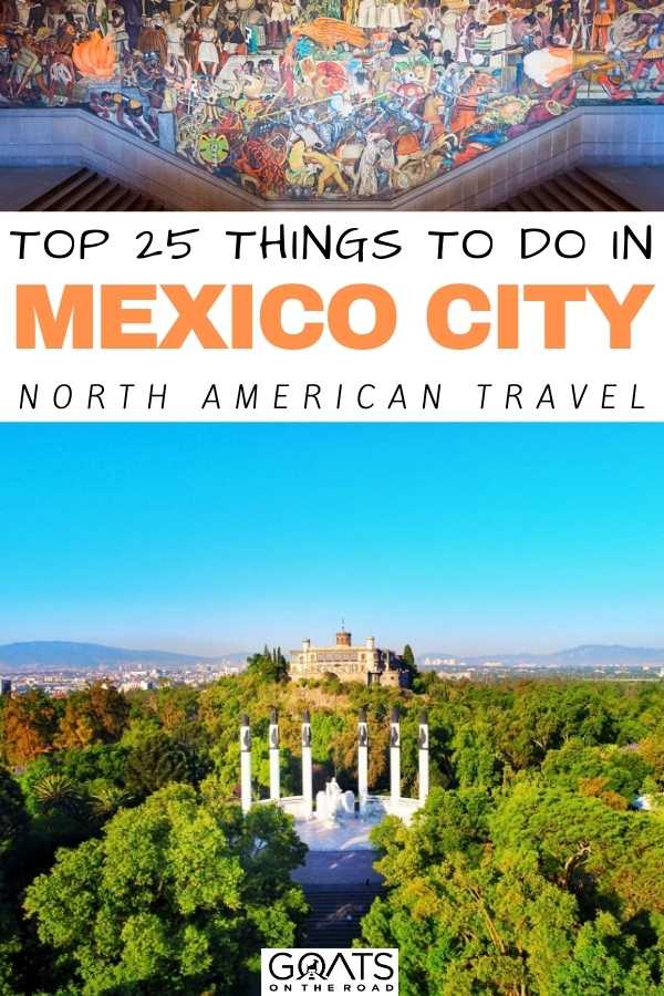 Top 25 Things To Do in Mexico City
