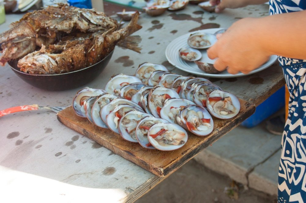 Famous Chocolate Clams, things to do in La Paz, Mexico
