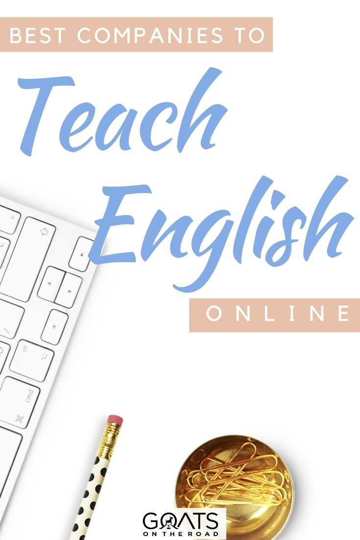 """Best Companies to Teach English Online"