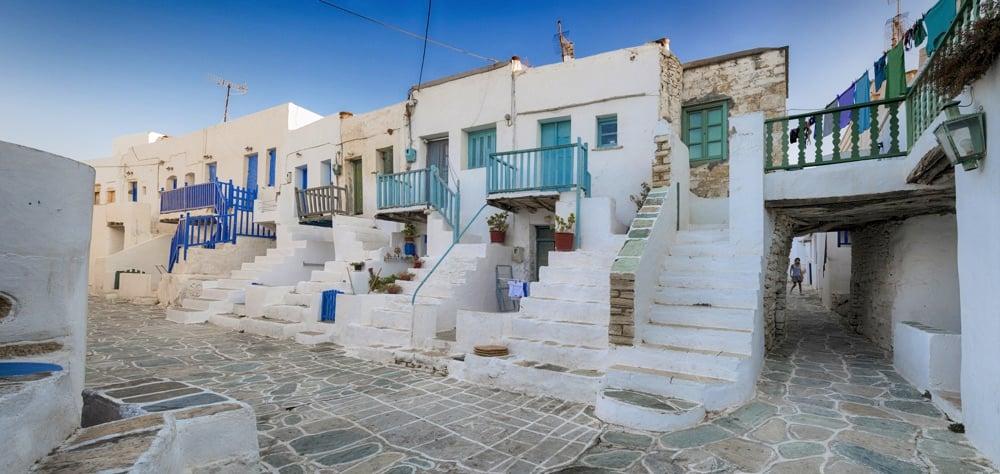 Folegandros town greece
