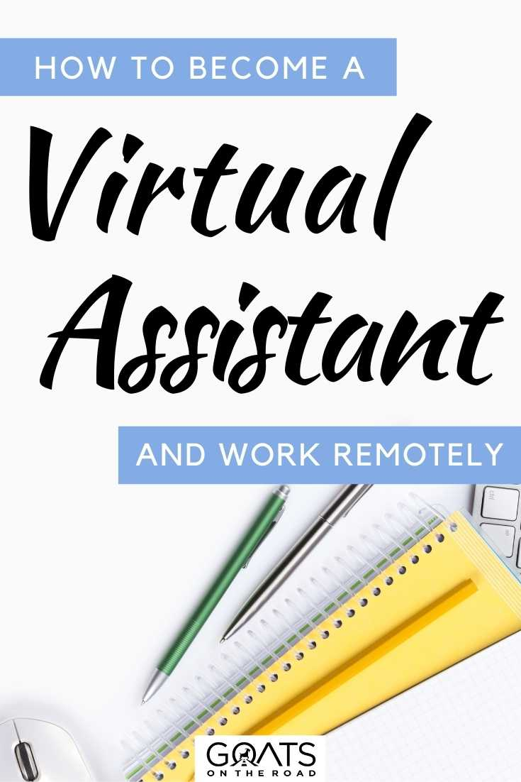 """""""How To Become a Virtual Assistant & Work Remotely"""