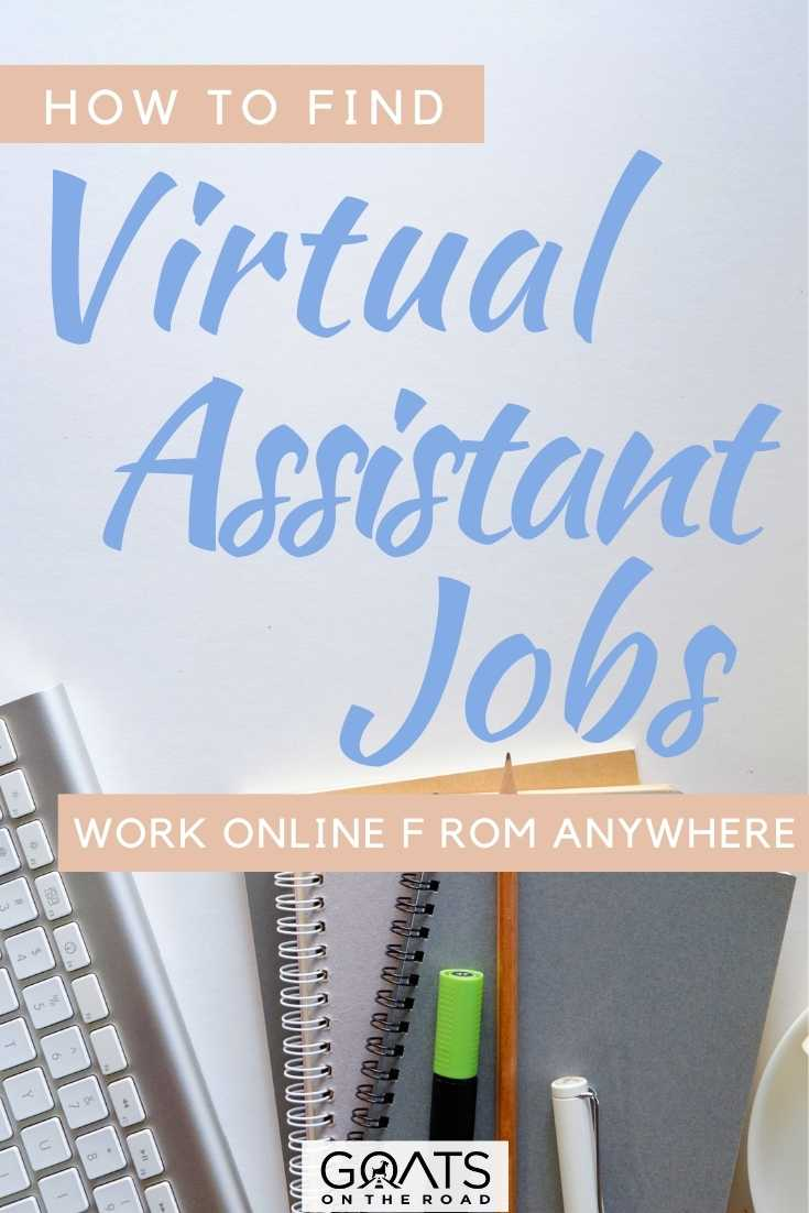 """""""How To Find Virtual Assistant Jobs: Work Online, From Anywhere"""