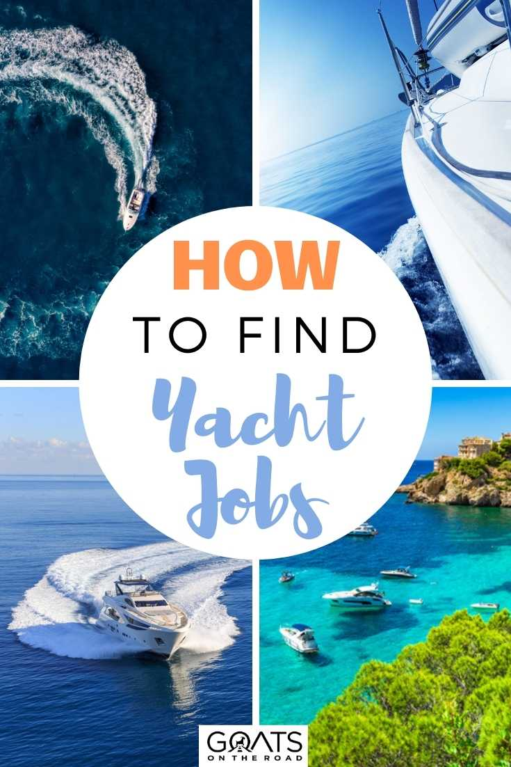 How To Find Yacht Jobs