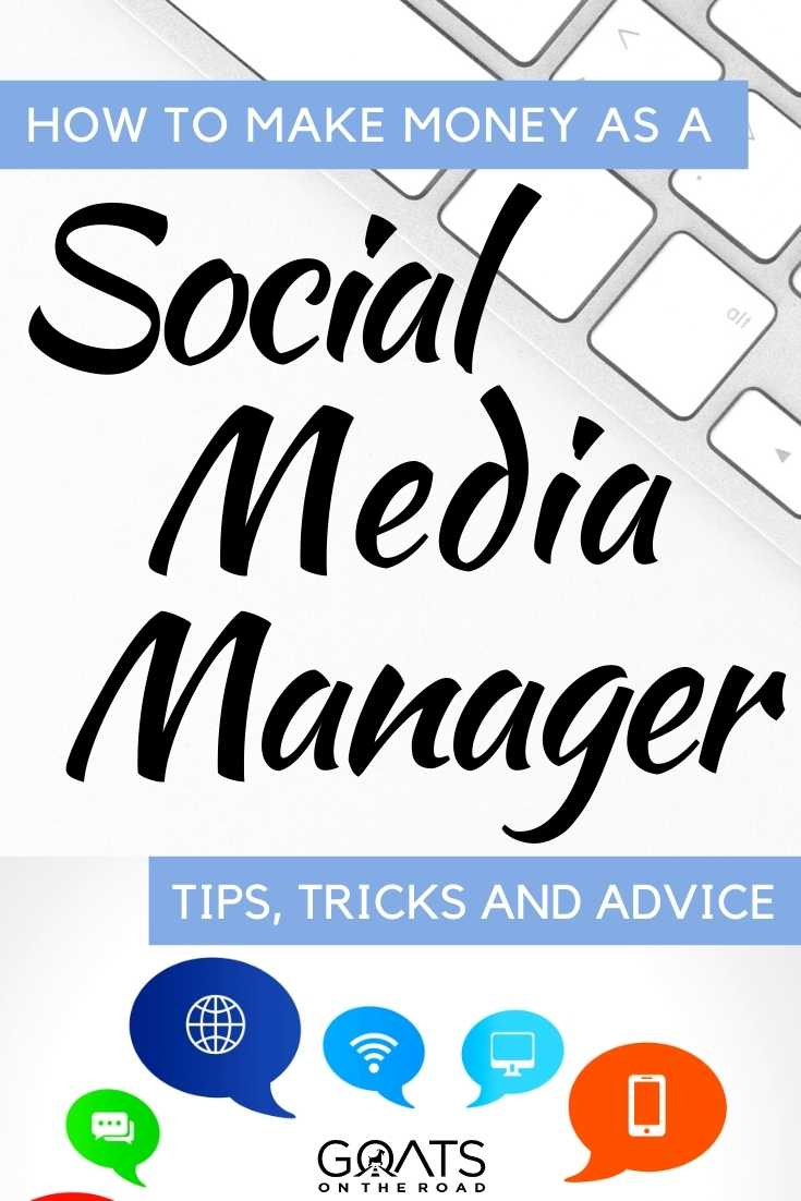 """""""How To Make Money As A Social Media Manager"""
