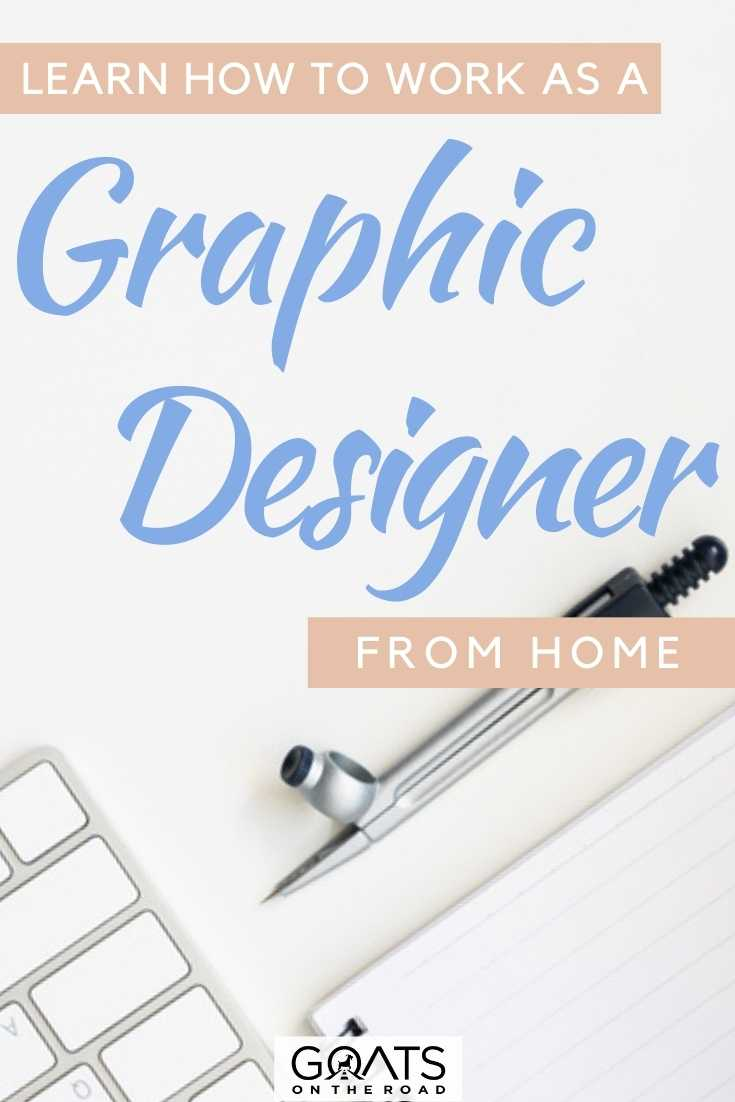 """""""Learn How To Work As A Graphic Designer From Home"""