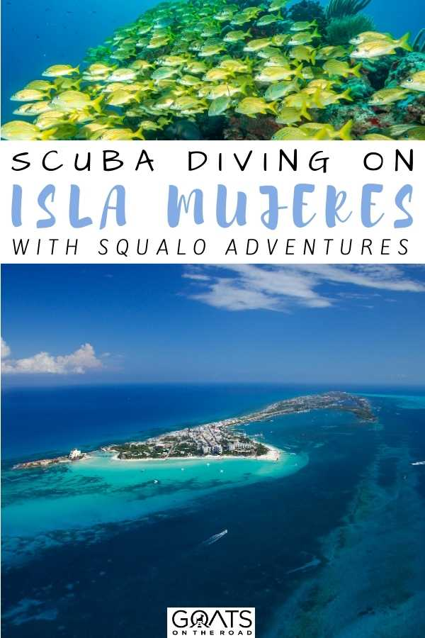 """""""Scuba Diving on Isla Mujeres with Squalo Adventures"""